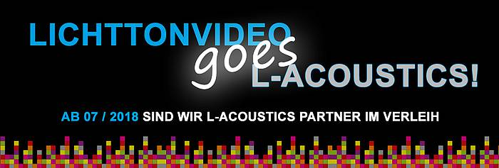 Lichttonvideo goes L-Acoustic